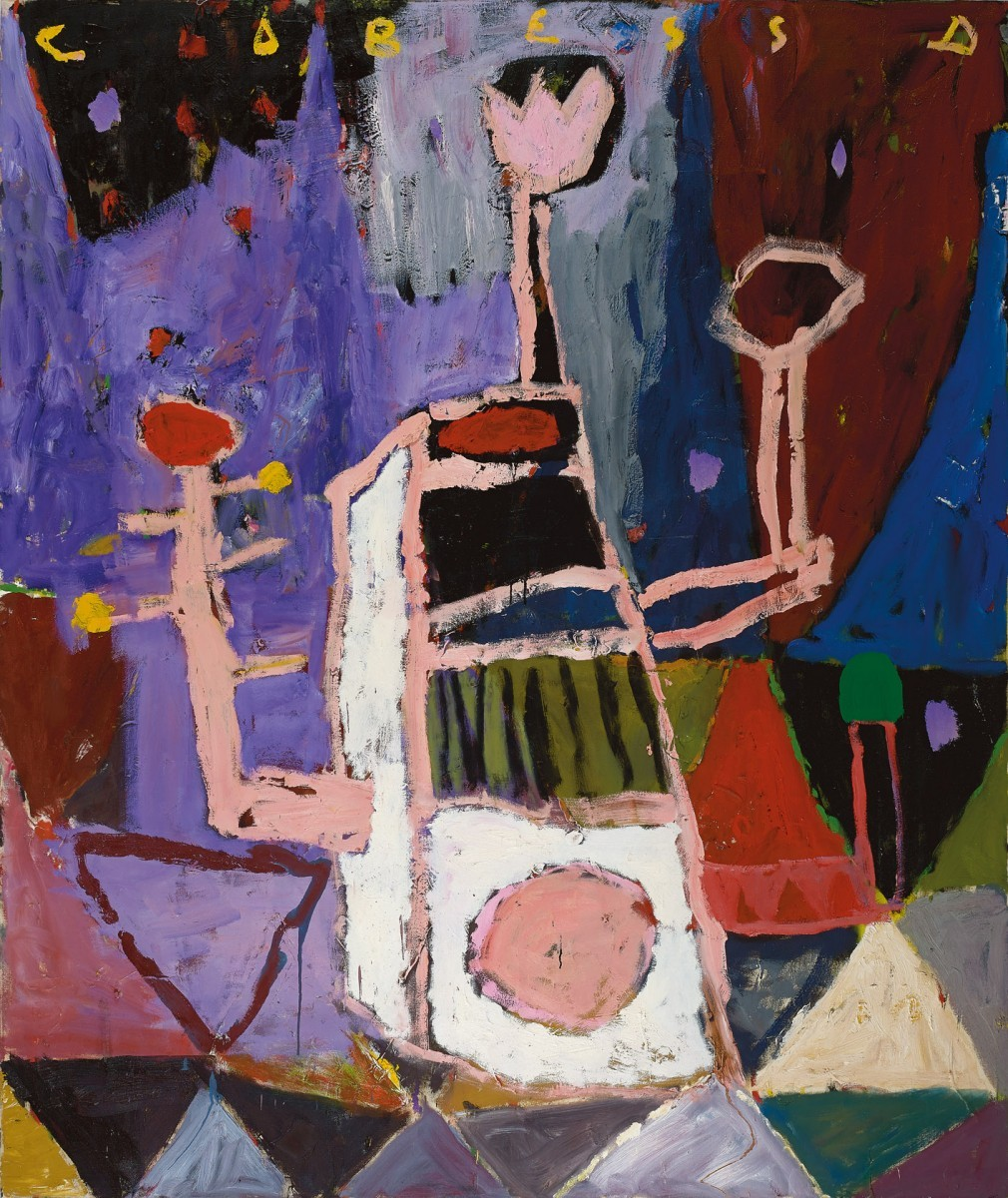 Amit Cabessa, 2017, Oil on canvas 190 x 160 cm