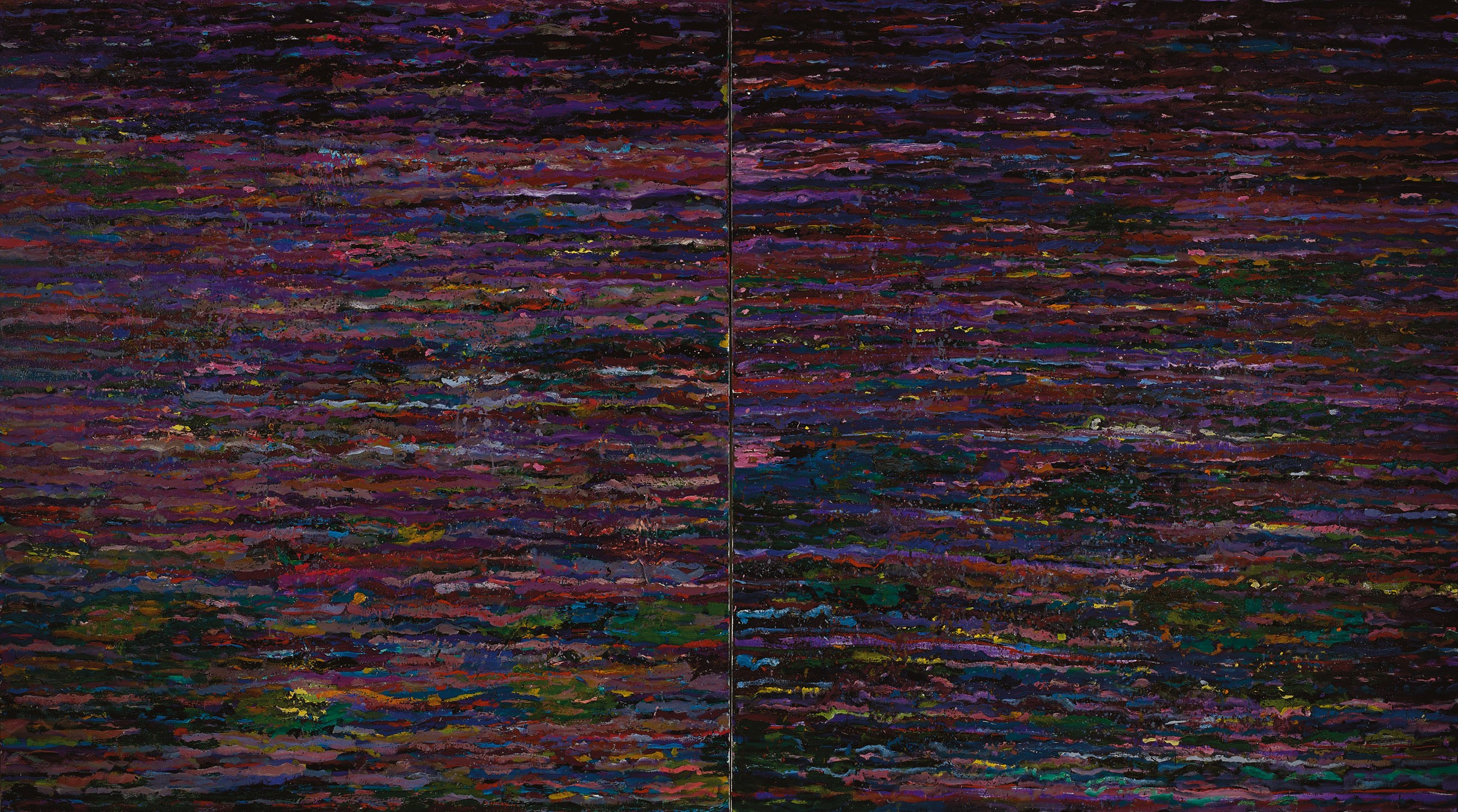 Amit Cabessa, 2019, Oil on canvas 190 x 340 cm (2)