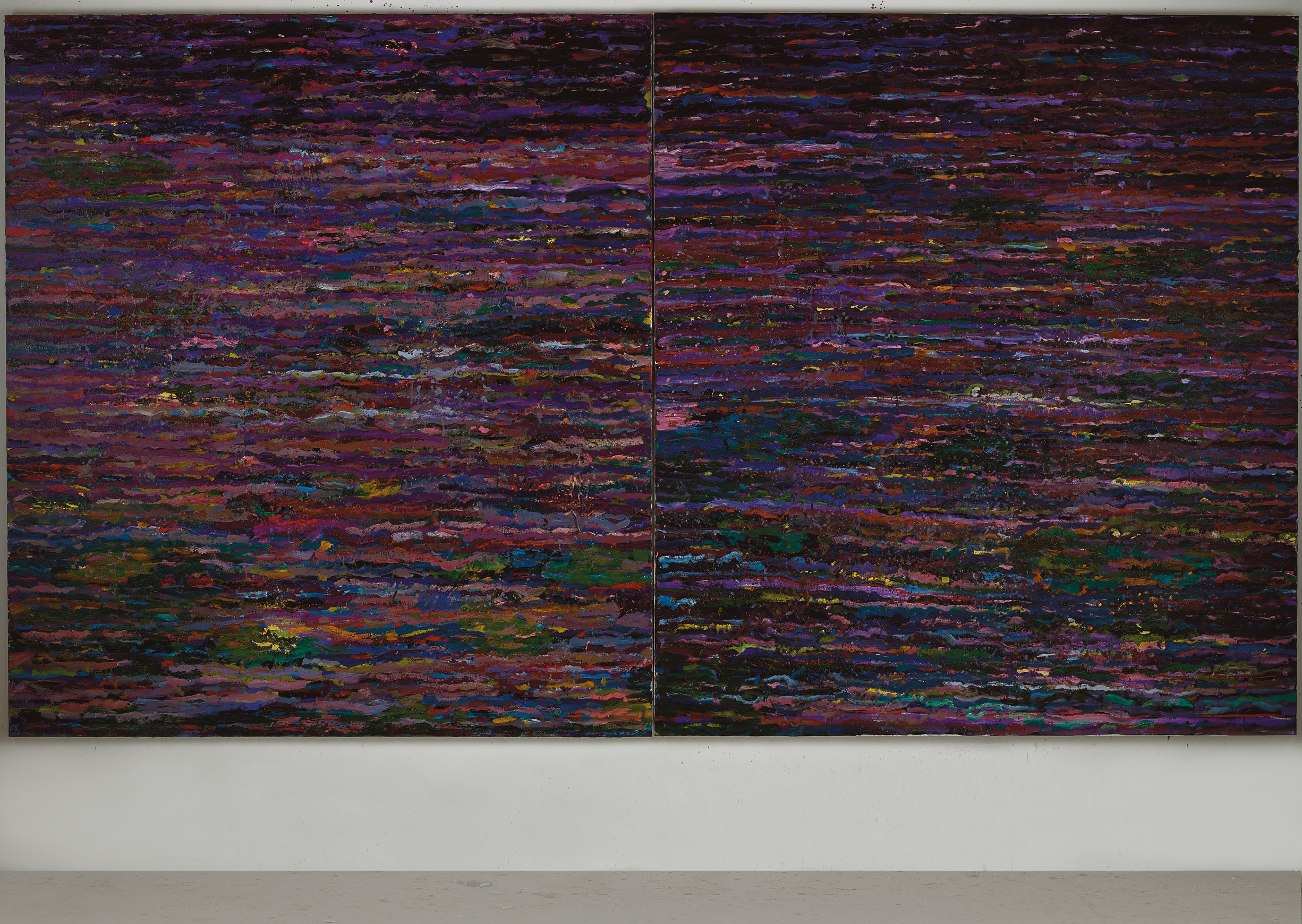 Amit Cabessa, 2019, Oil on canvas 190 x 340 cm (1)