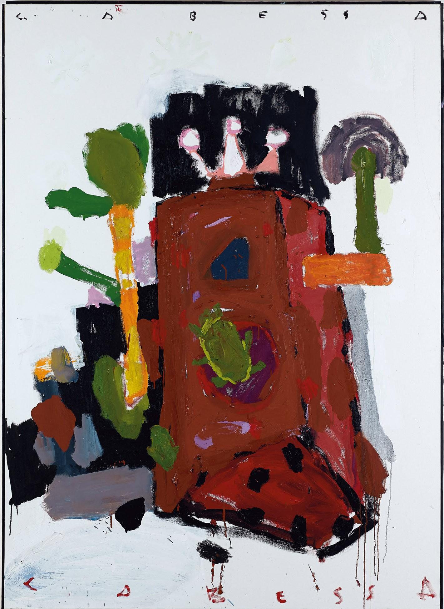 Amit Cabessa, 2018, Oil on canvas, 180x130 cm