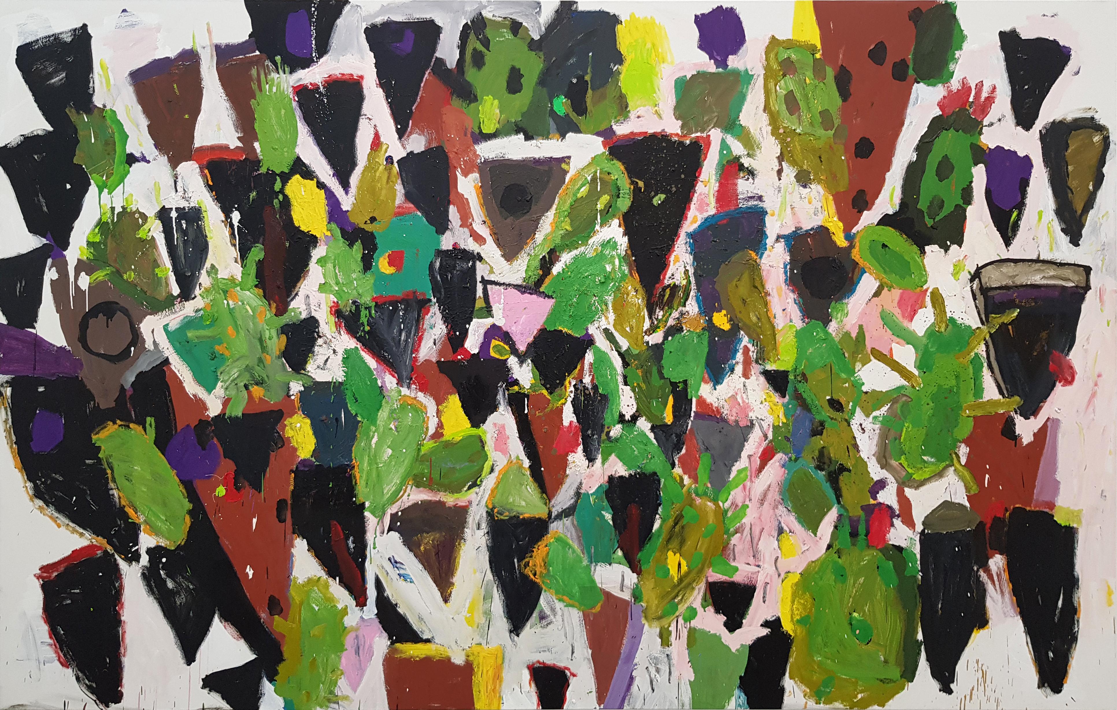 Amit Cabessa, 2018, Oil on canvas, 200x322 cm