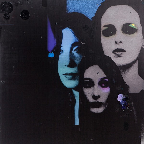 02 Lothar Hempel, Sisters, 2013, Mixed media on aluminium, 150x150 cm-600x599