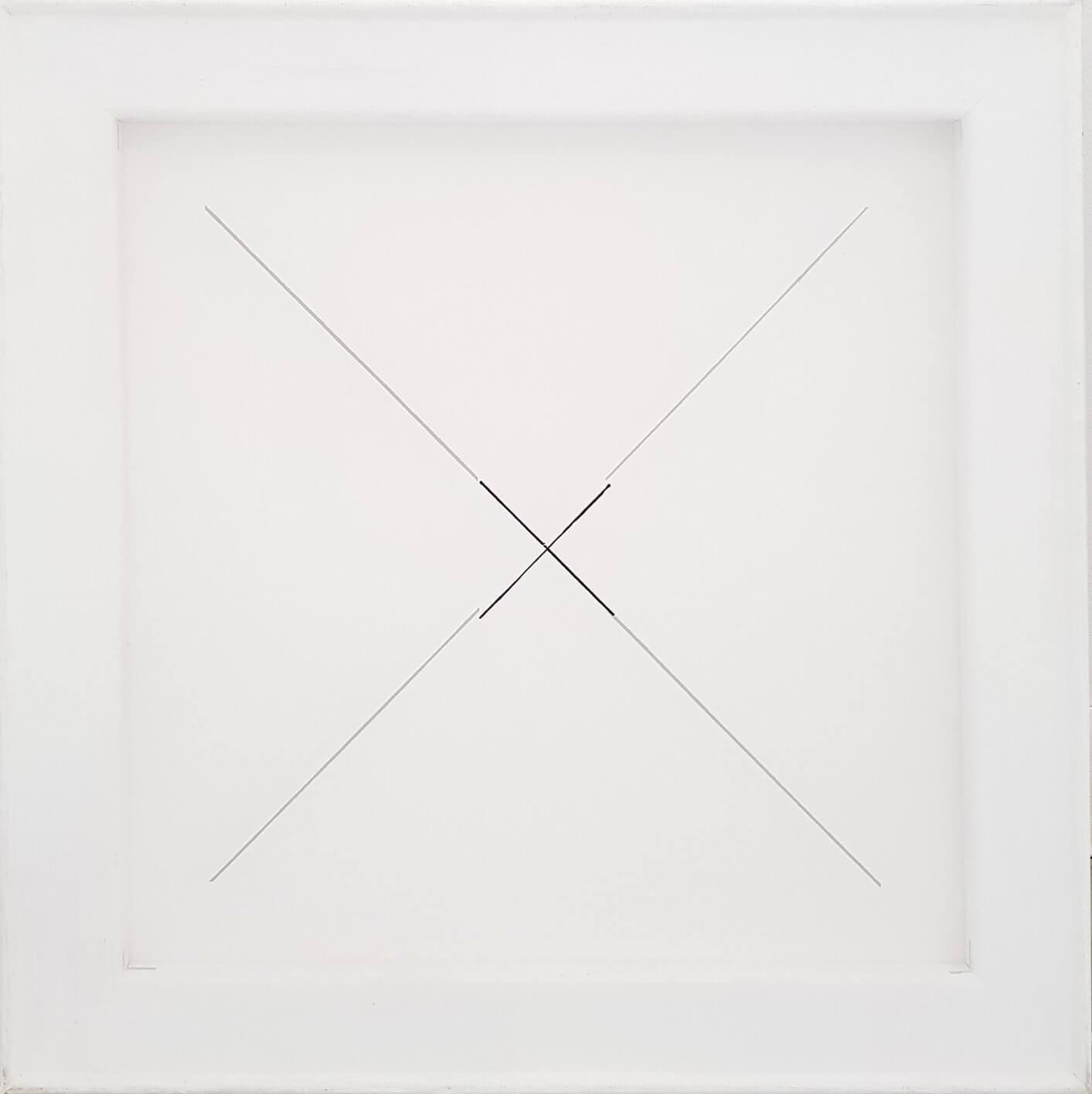 1577_Benni Efrat, Untitled, 2018, Mixed media on canvas, 40x40 cm (2)-1413x1416 (1)