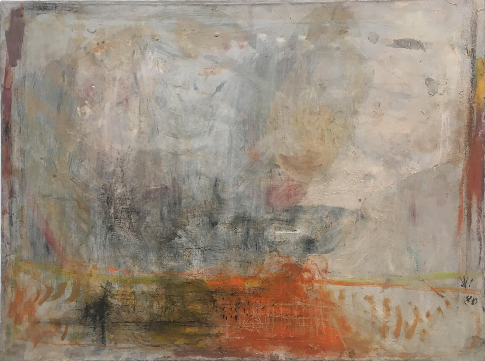 1478_Yehezkel Streichman, 1980, Oil on canvas, 60x80 cm 9,500$-1639x1220
