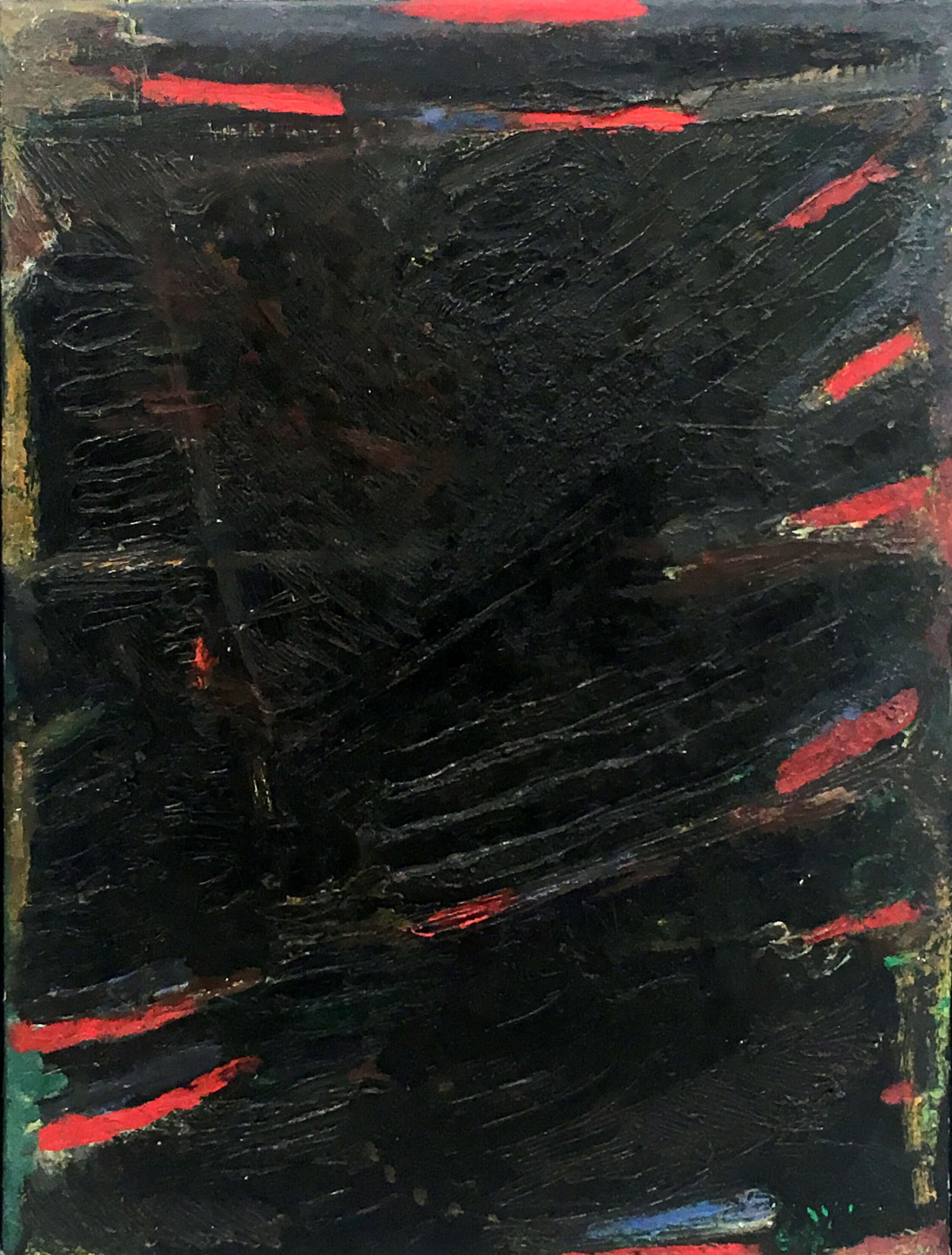 1467_Yehezkel Streichman, 1964, Oil on canvas, 61x41 cm 6,500$-2244x2958