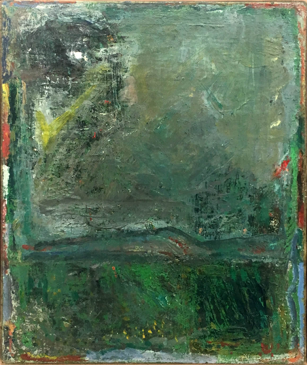 1463_Yehezkel Streichman, 1958, Oil on canvas, 61x50 cm-1298x1541
