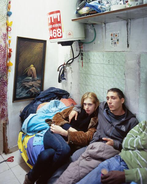 1361_Ron Amir, Eli, Yuliana and Igal, 2012, Inkjet print, 100x80 cm-480x600