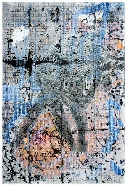 1_Darren Goins, 049r, 2015, acrylic, urethane, nylon on etched acrylic panel, 183x122 cm-410x600