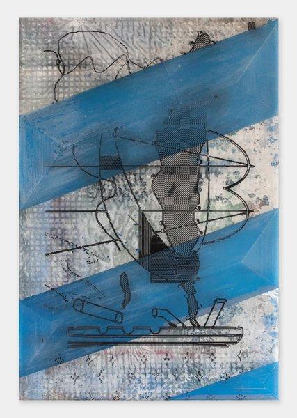 2_Darren Goins, 032r, 2014, acrylic, urethane on etched acrylic panel, 183x122 cm-427x600