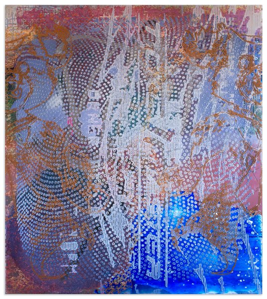 9_Darren Goins, 042r, 2014, acrylic, urethane on etched acrylic panel, 139x123 cm-536x600