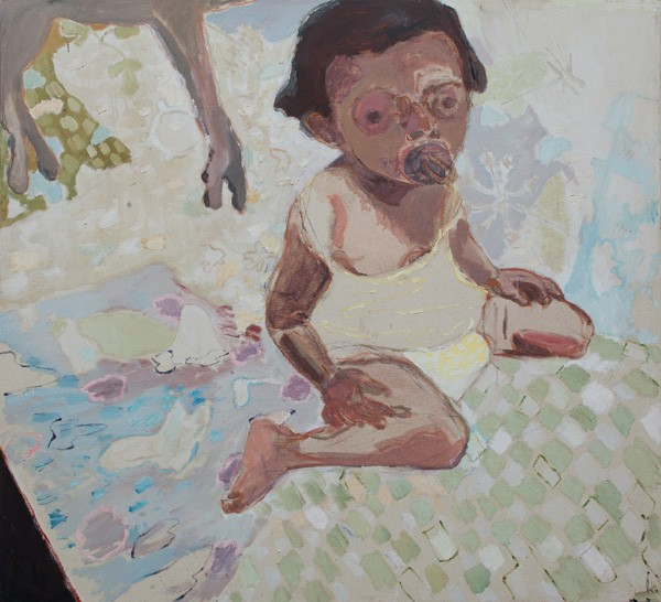 706_(5)Amit Cabessa, Yuval, 2012, oil on canvas, 110x120