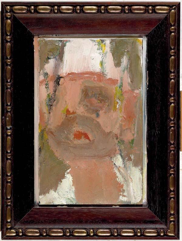Amit Cabessa, Head, 2010, Oil on canvas, 50x38 cm, $2,800