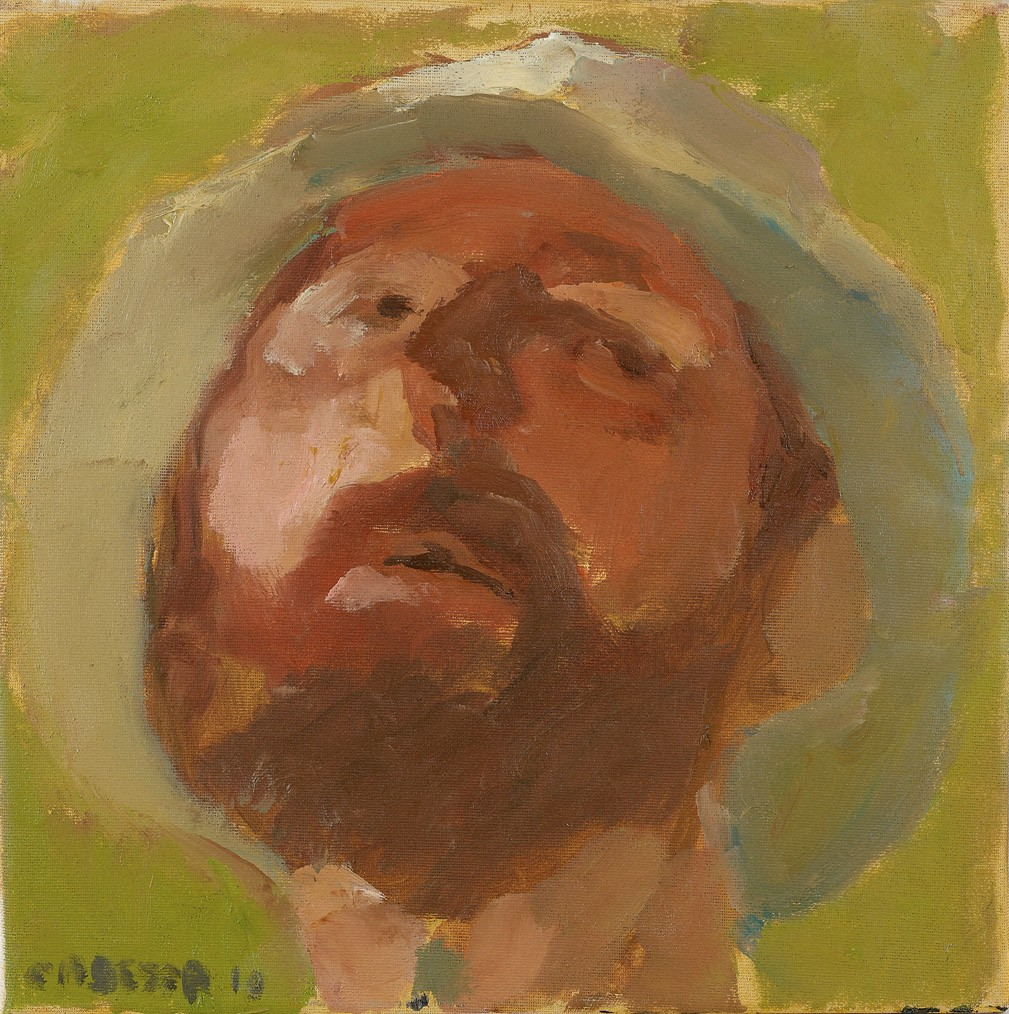 Amit Cabessa, Oil on Canvas, 30x30 cm, 2010, 2.500$