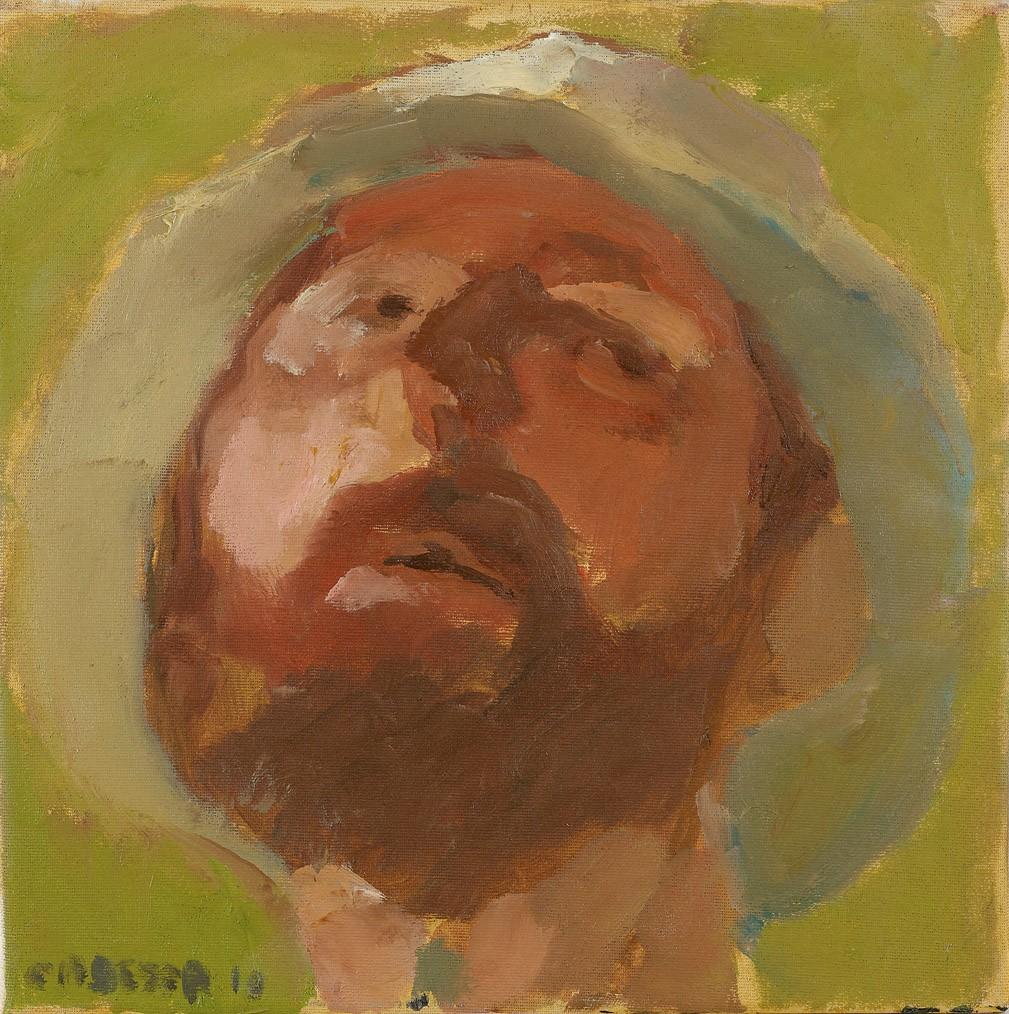 Amit Cabessa, Oil on Canvas, 30x30 cm, 2010, 2.500$