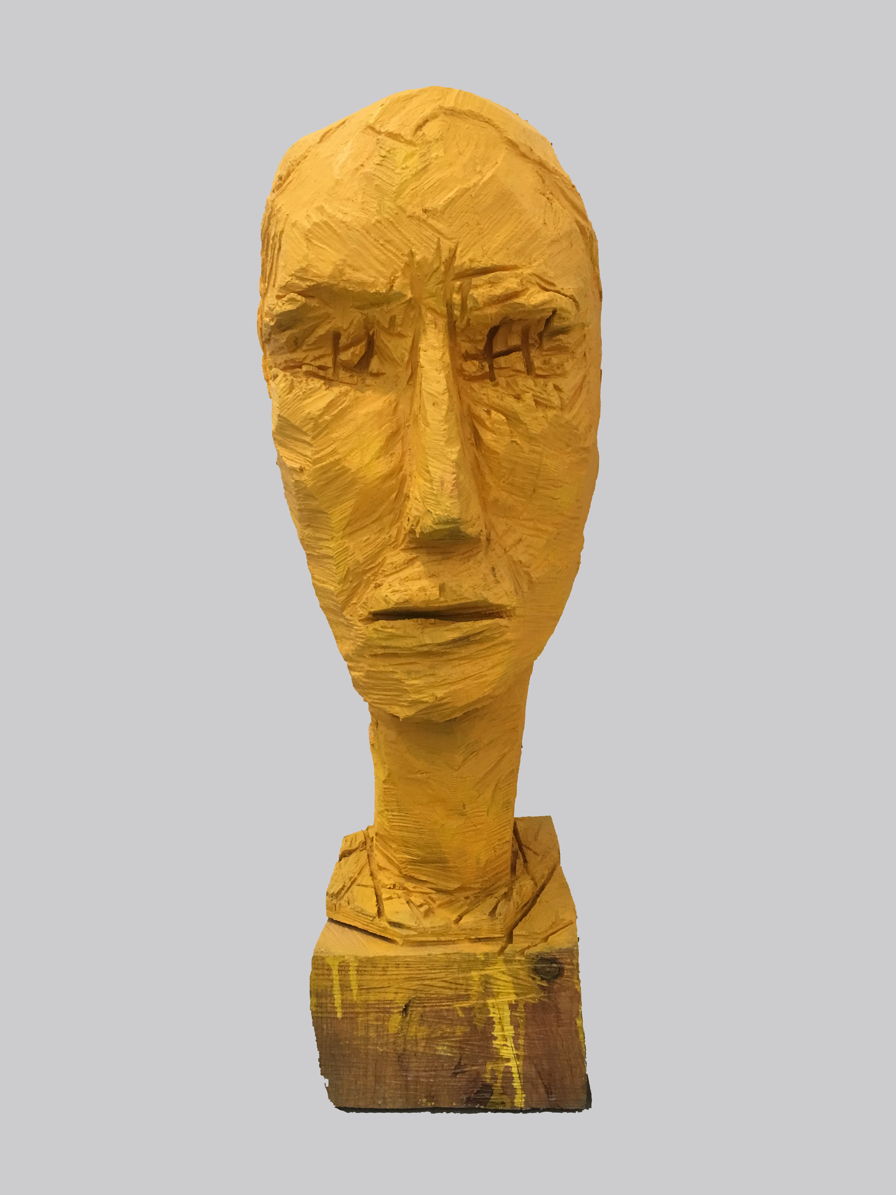 Haim Senior, yellow head, 2018 H-135 cm, 8,500$ (1)