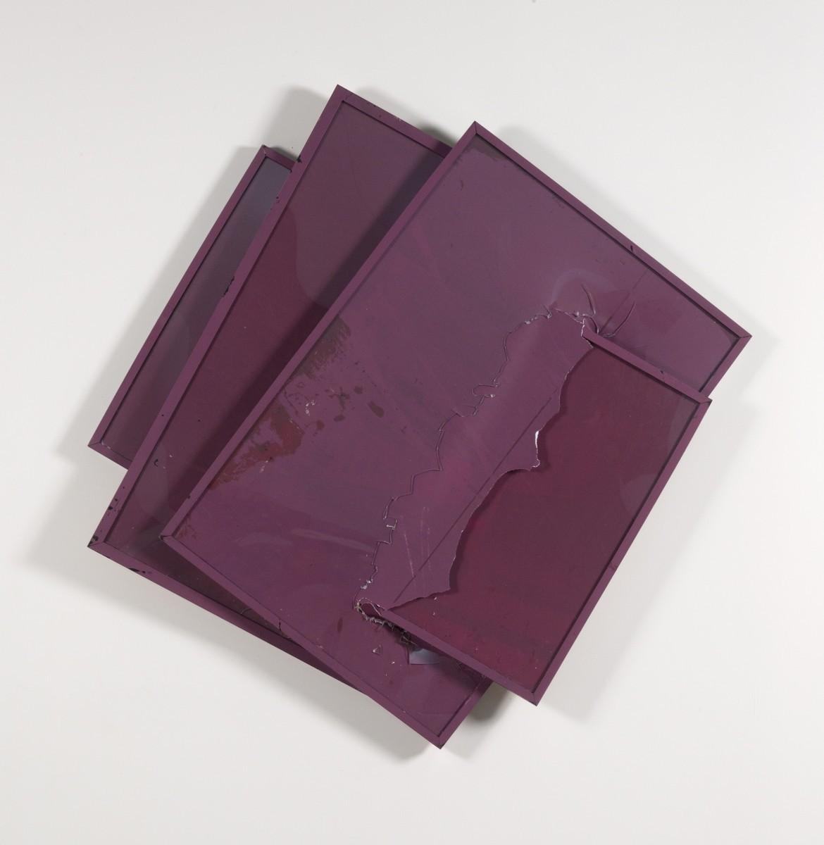 Brendan Fowler, To be Titled, 2013, silkscreen on archival inkjet prints, silkscreen on frames, plexiglas, 122x127x10 cm