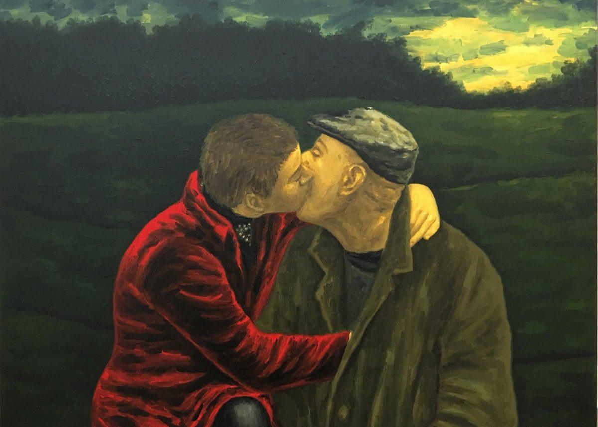 Meir Pichhadze, 2000, Oil on canvas, 77x102 cm
