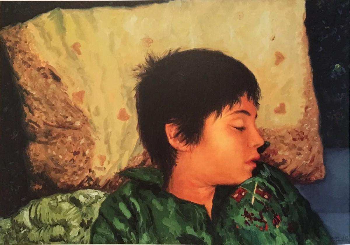 Meir Pichhadze Oil on canvas, 1997, 65 x 45 cm 9,000$