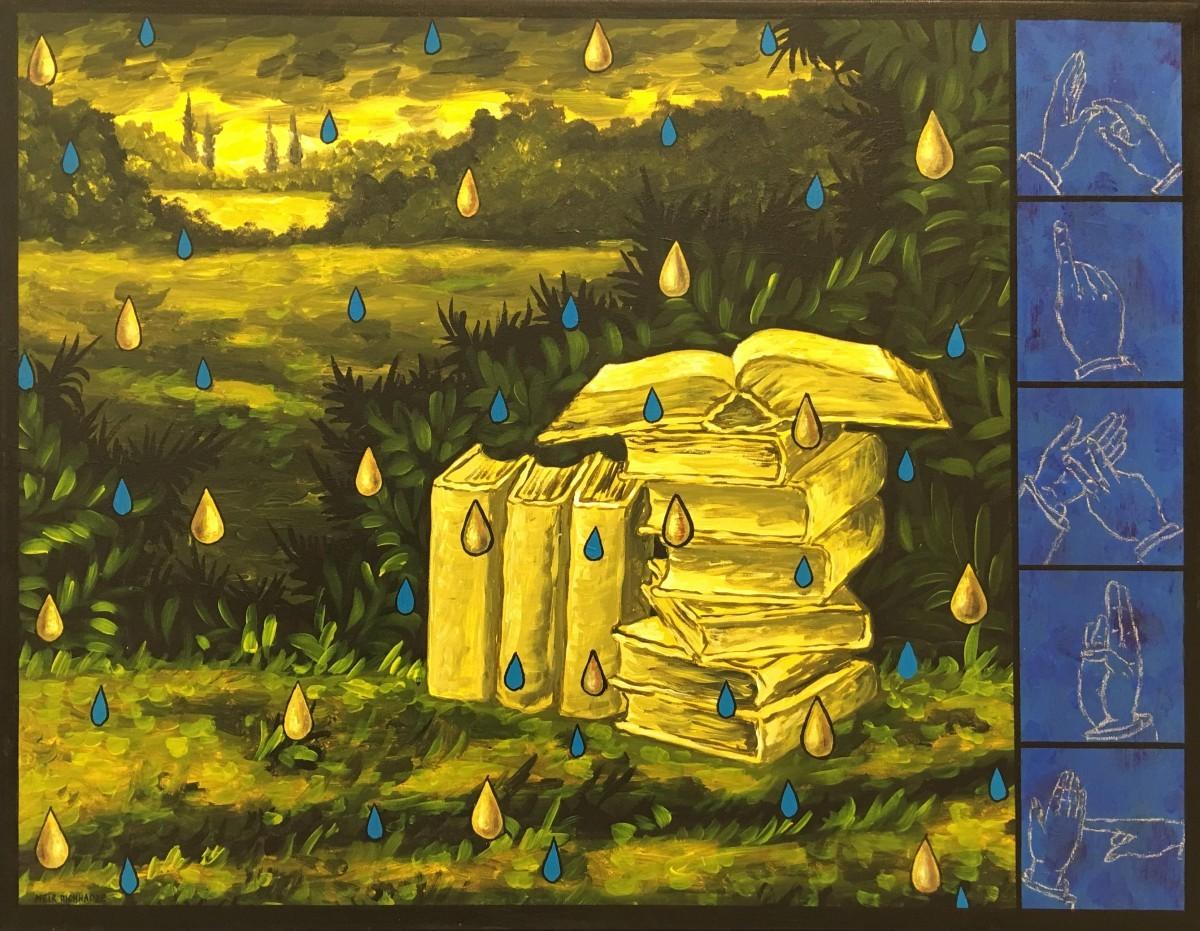 S-201, Meir Pichhadze, 2007, Oil on canvas, 71x92 cm 14,000$