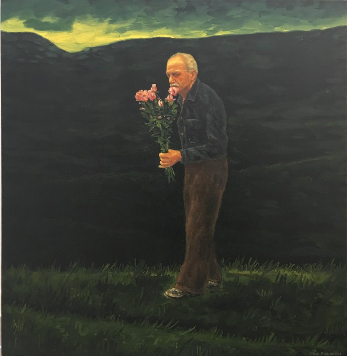 S-197, Meir Pichhadze, Oil on canvas, 85x79 cm 42,000 sekel