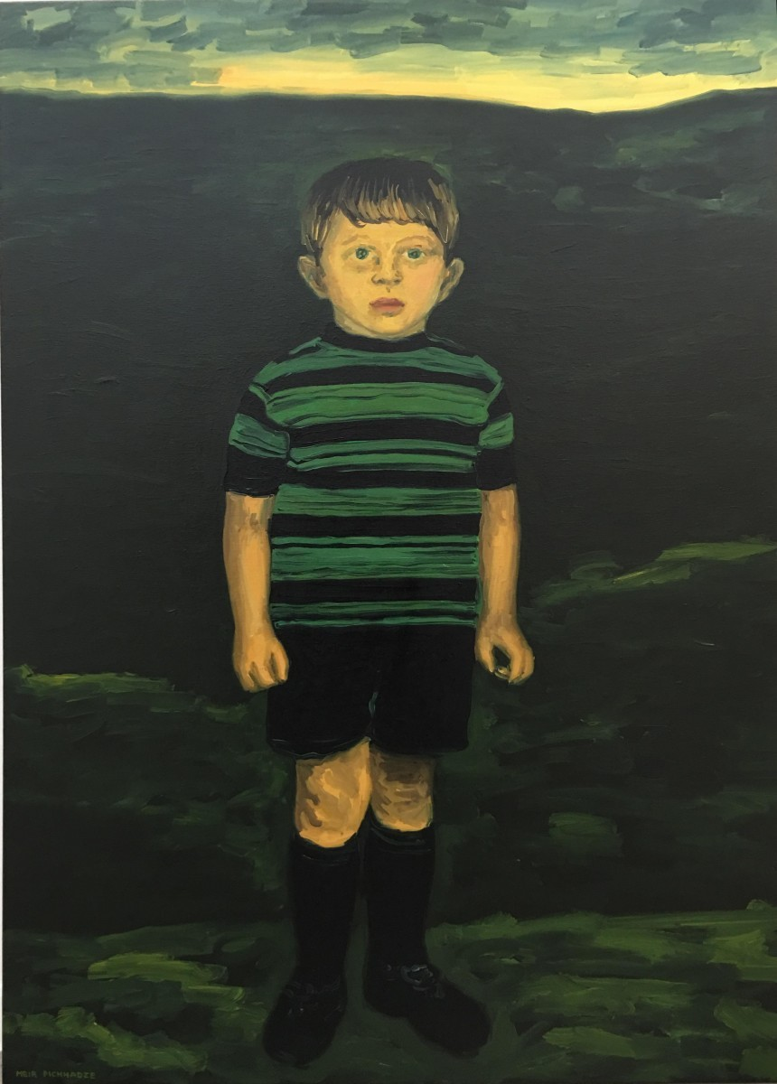 S-198, Meir Pichhadze, Oil on canvas, 118x83 cm 48,000 sekel