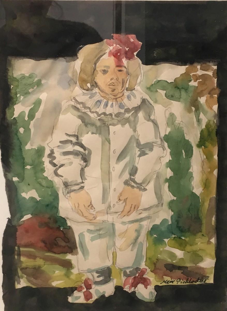 S-161, Meir Pichhadze, 1987, Watercolor, 35x25 cm 2,200$