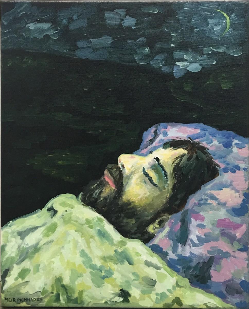S-15, Meir Pichhadze, Oil on canvas, 50x40 cm 4,500$