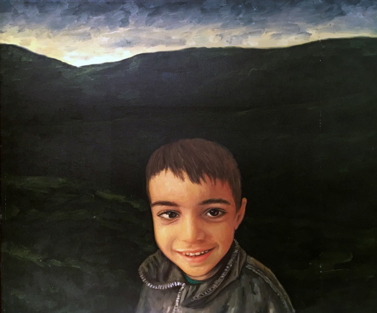 S-117, Meir Pichhadze, Oil on canvas, 60x73 cm 35,000 sekel