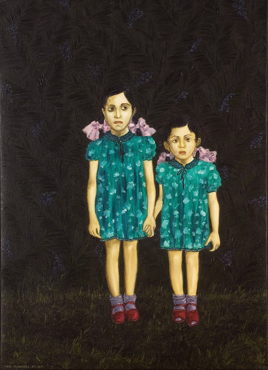 S-111, Meir Pichhadze, Oil on canvas, 78x56 cm 11,000$