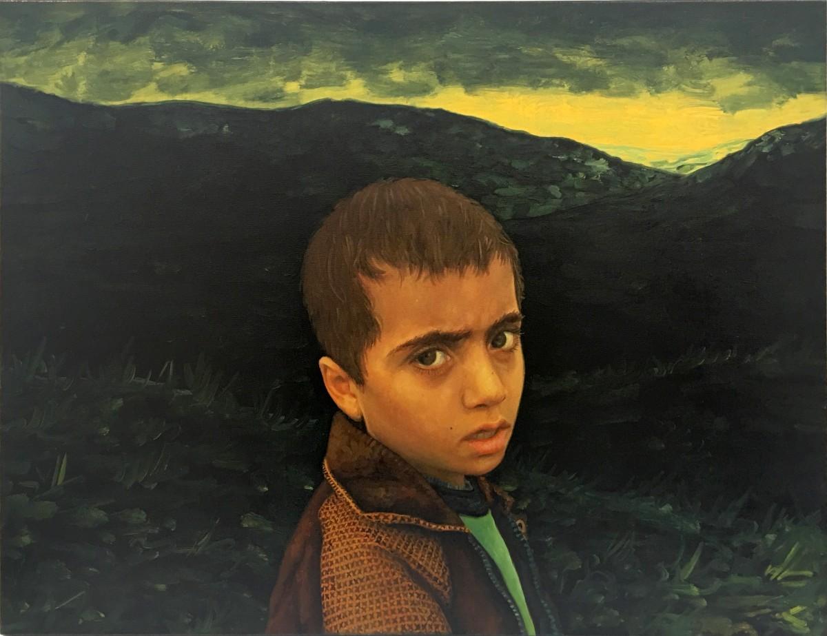 S-108, Meir Pichhadze, 2002, Oil on canvas, 63x83 cm 11,000$