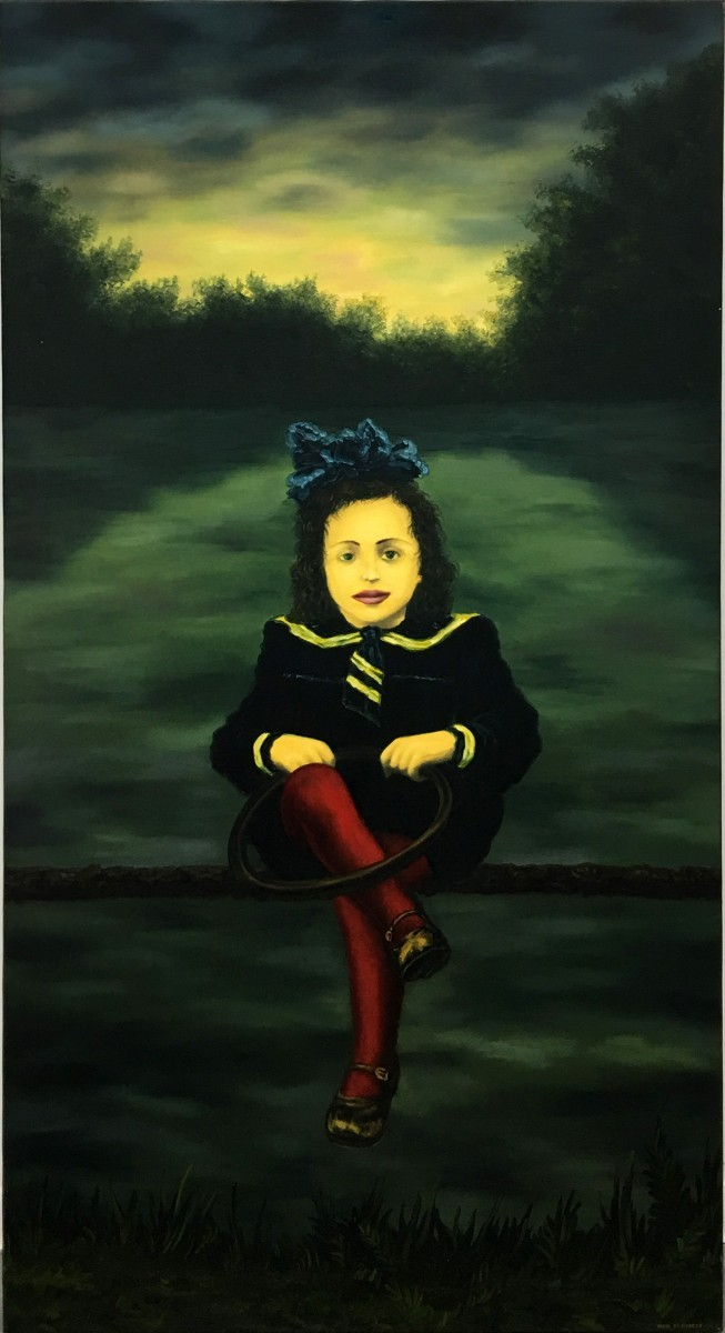 S-400, Meir Pichhadze, Oil on canvas,155 x 84 cm, 58,000 sekel