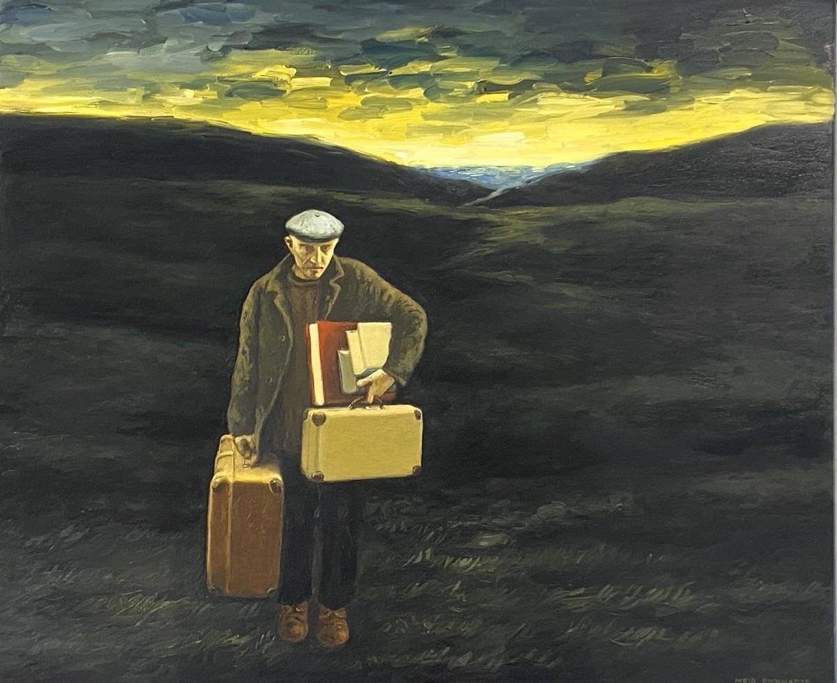 S- 91, Meir Pichhadze, Oil on canvas 50 x 60 cm 35,000 sekel
