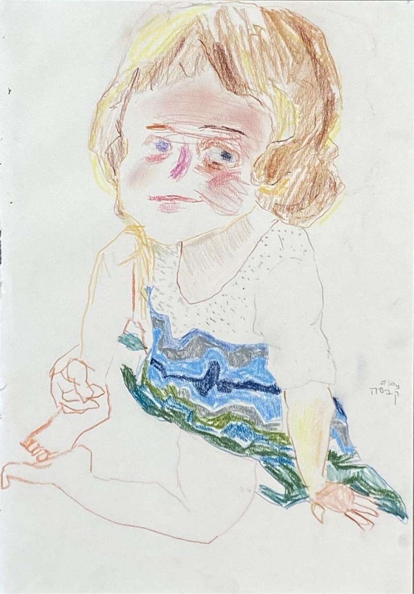Amit-Cabessa-2020-Colored-pencils-on-paper-42x29.5-cm-5500-ILS
