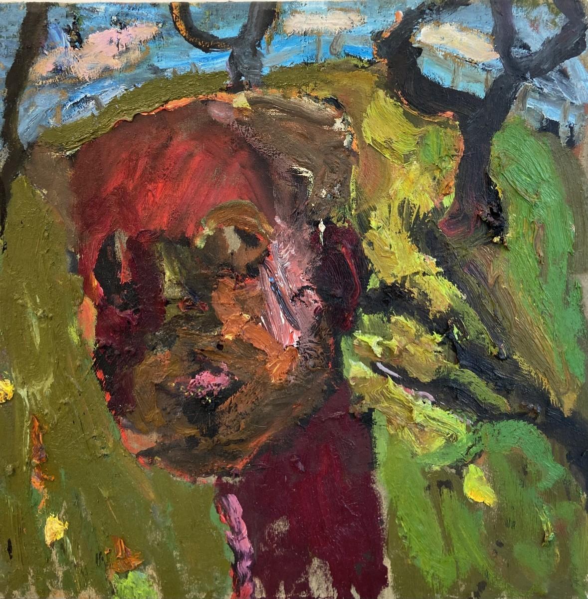 Amit Cabessa, 2020,Oil on canvas 50 x 50 cm