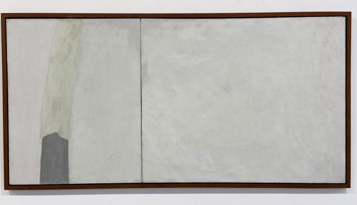 Michael Gross,1972,oil on canvas,80x164 cm,