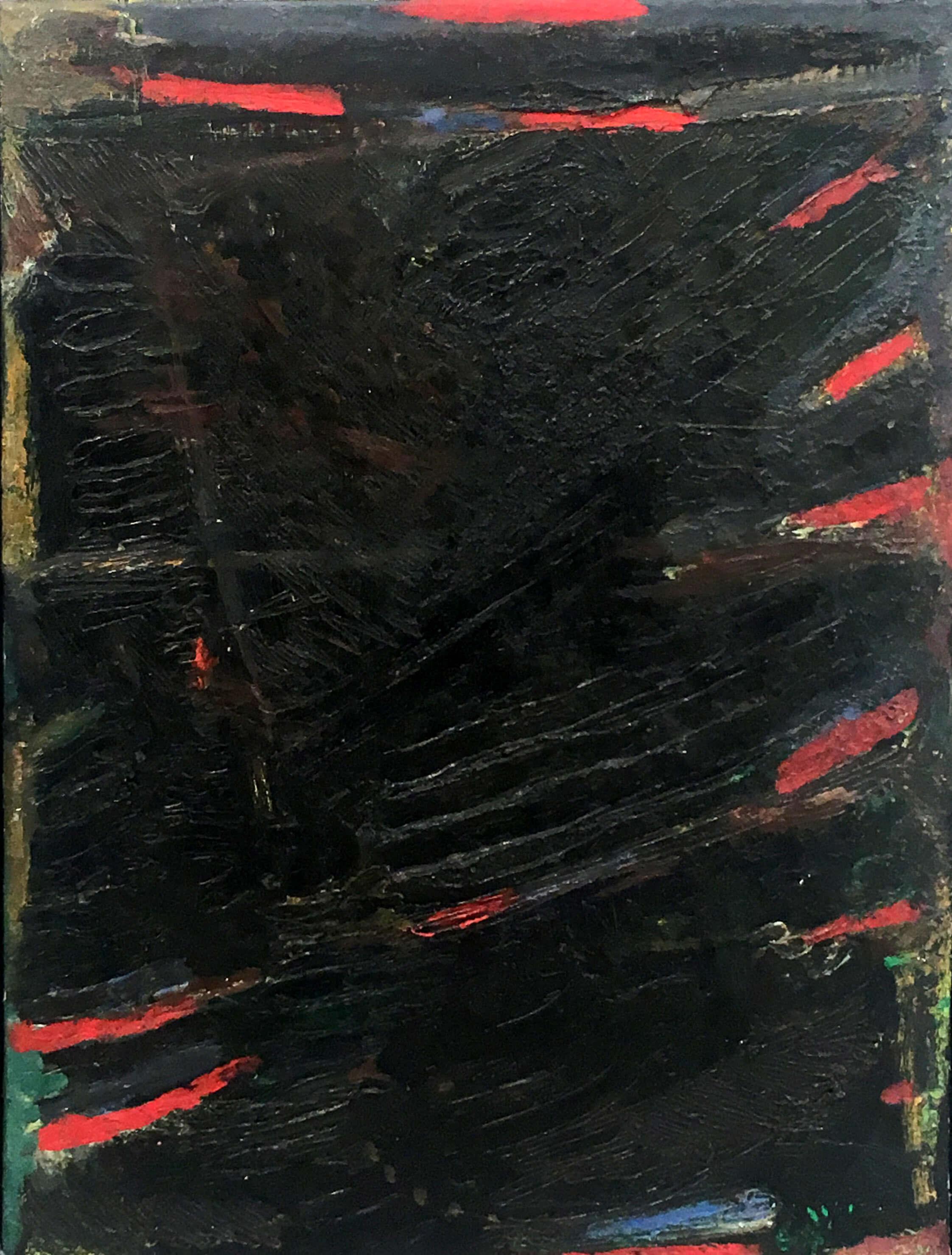 1467_Yehezkel Streichman, 1964, Oil on canvas, 61x41 cm 6,500$-2244x2958