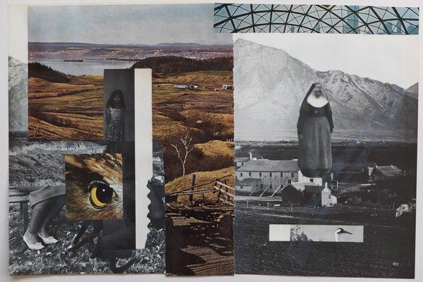 1514_Gilad Kahana, Piano, 2016, Collage, 27x41cm-600x400