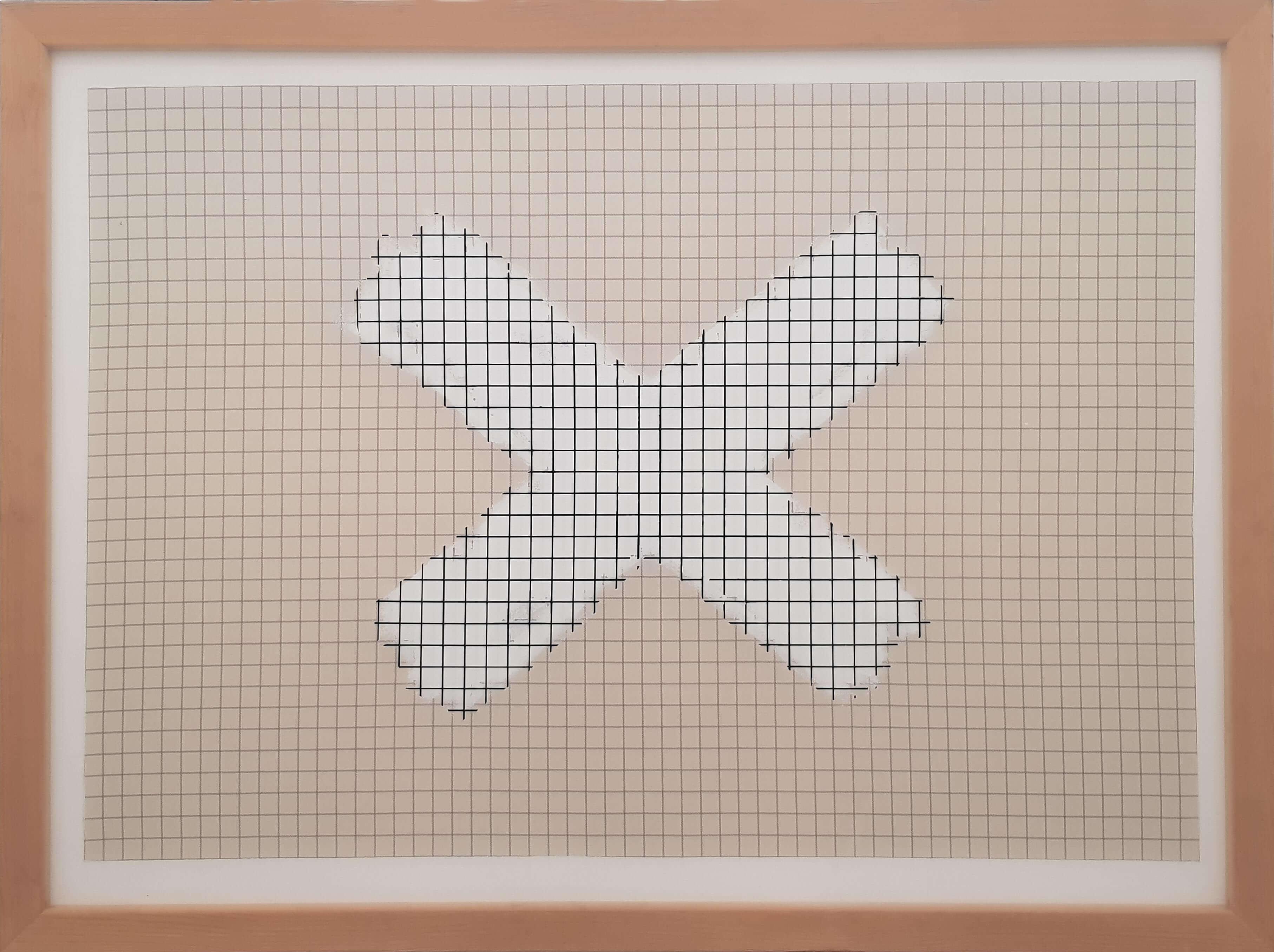 1573_Benni Efrat, Windows, 1974, Mixed media on canvas, 122x91 cm-3628x2712
