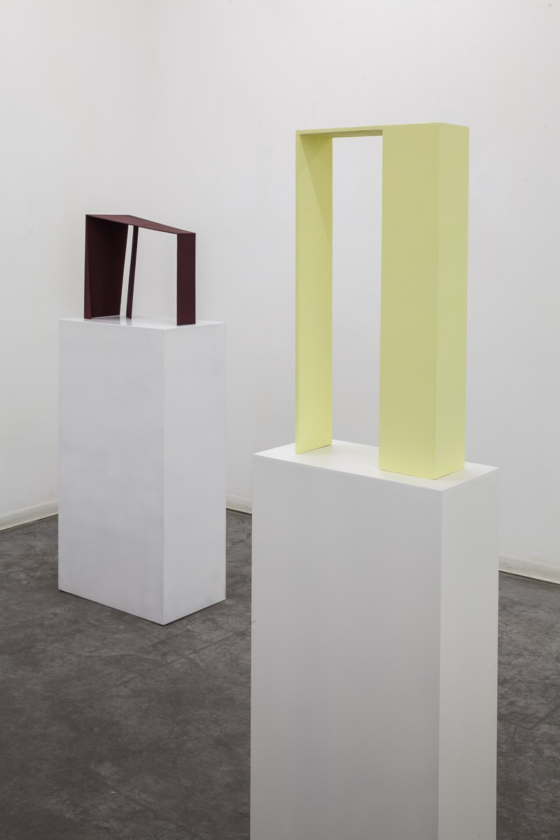 Madeleine Boschan, in which its gaze, bent merely on itself, upholds and gleams, Exhibition view, HCG 2016 (3)