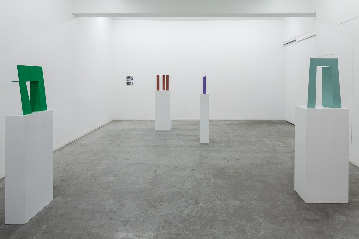 Madeleine Boschan, in which its gaze, bent merely on itself, upholds and gleams, Exhibition view, HCG 2016 (5)
