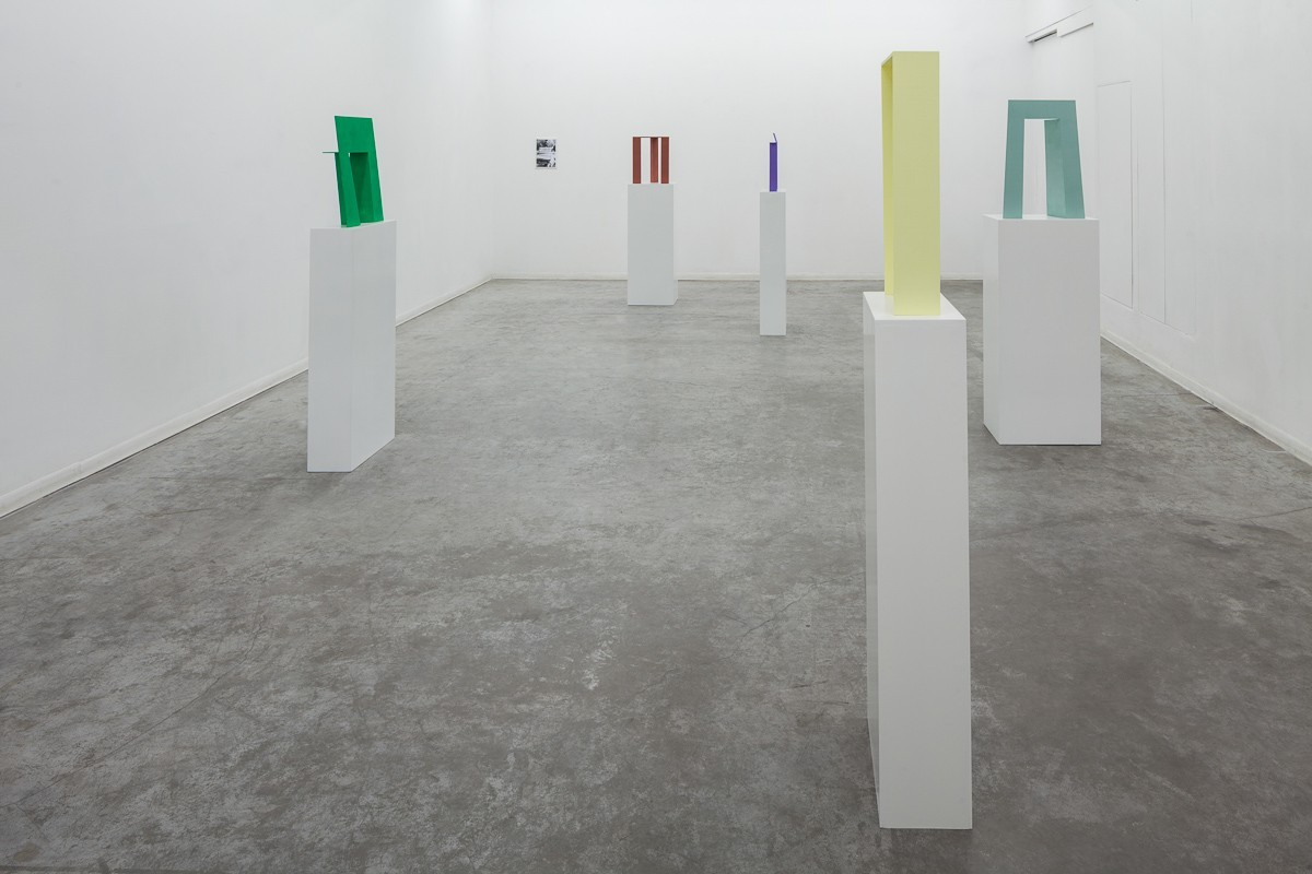 Madeleine Boschan, in which its gaze, bent merely on itself, upholds and gleams, Exhibition view, HCG 2016 (8)
