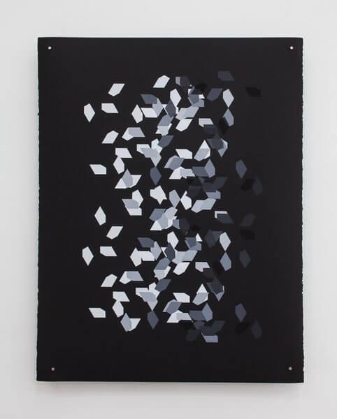 1185_9 Jan Tichy, Type 5 ,2015, Screen print, acrylic on paper, 74x57 cm (31)-482x600 (1)