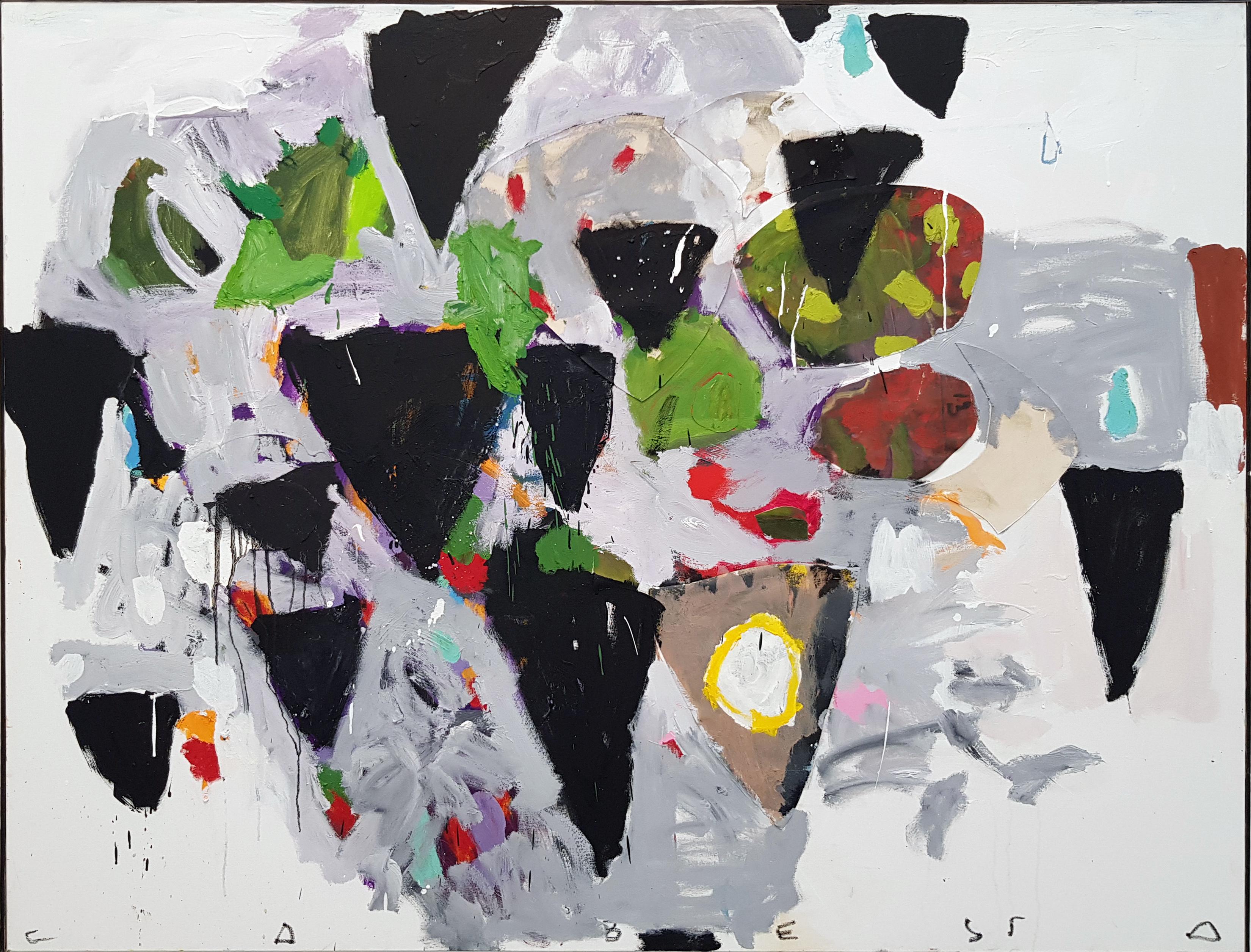 Amit Cabessa, 2018, Oil on canvas, 149