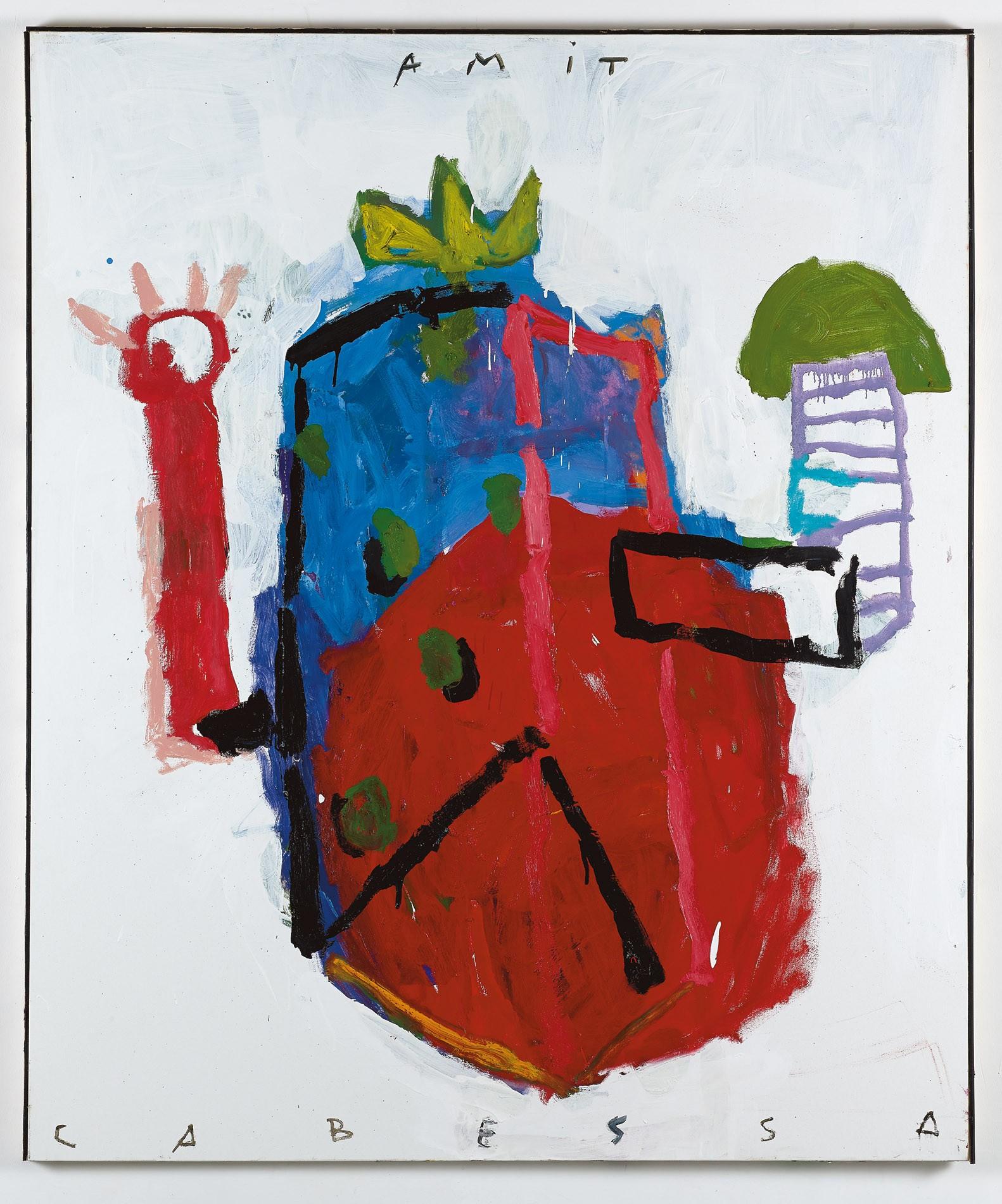 Amit Cabessa, 2018, Oil on canvas, 180x149