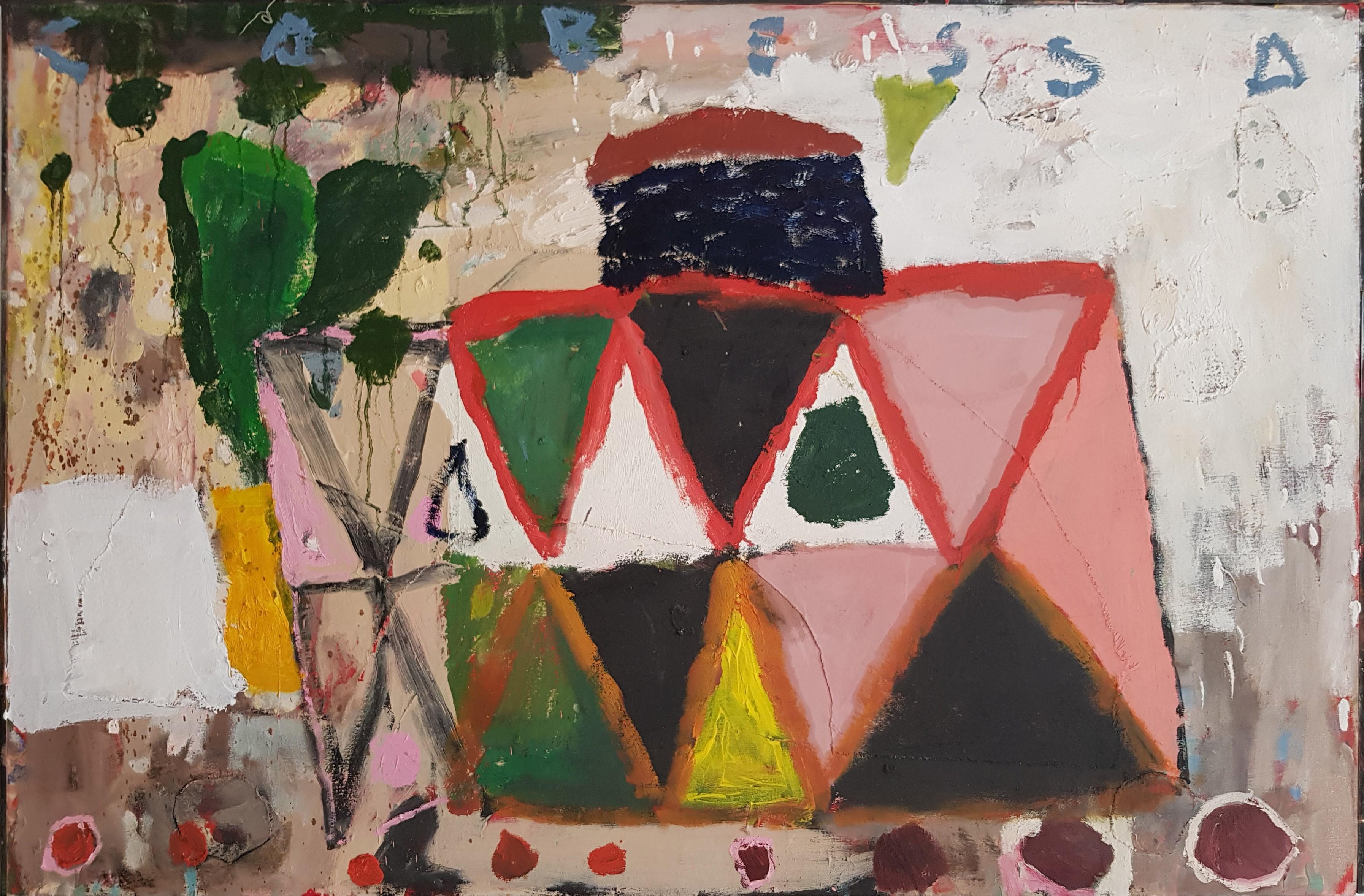 Amit Cabessa,2018, Oil on canvas 93x141