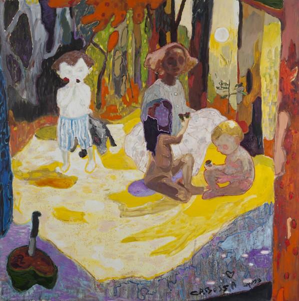 705_(4)Amit Cabessa, Watermelon, 2012, oil on canvas, 200x200 cm-597x600
