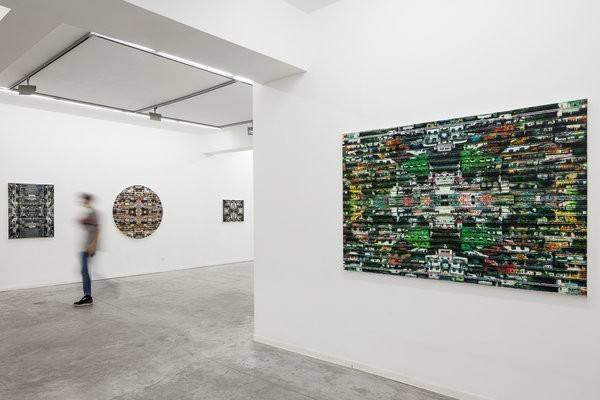 1132_Shay Kun, Sum of its Parts, Exhibition view, Hezi Cohen Gallery 2015 (3)-600x400